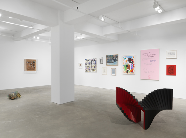 "installation view of ""The Silo"" at Garth Greenan, New York, 2015."
